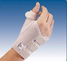 Cierre con la mano izquierda del pulgar
