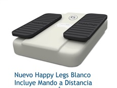 HAPPY LEGS BLANCO CON MANDO DISTANCIA