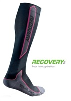 CALCETINES SIGVARIS RECOVERY2 Talla M Color Negro/Rosa